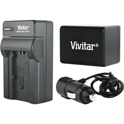 Power Battery and Charger Kit for Canon BP-727