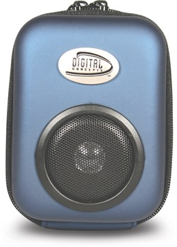 MP3 portable Sound Case (Blue)