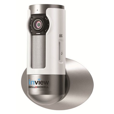 InView HD H.264 Wall Mountable Wi-Fi IP Camera 10x Zoom Night Vision - C-IP109