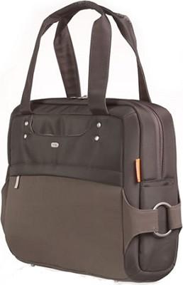 F8N030-BRN-LS NE-LB Brown Ladies Laptop Bag with 29-inch Strap