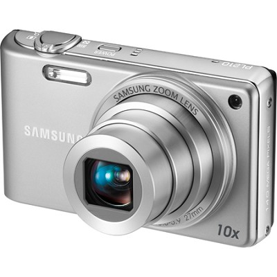 PL210 Superzoom 14MP Compact Silver Digital Camera
