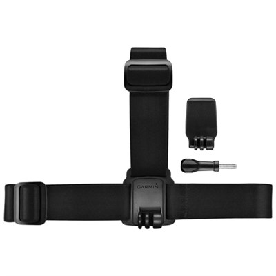 Head Strap Mount with Ready Clip for VIRB Series Action Cameras