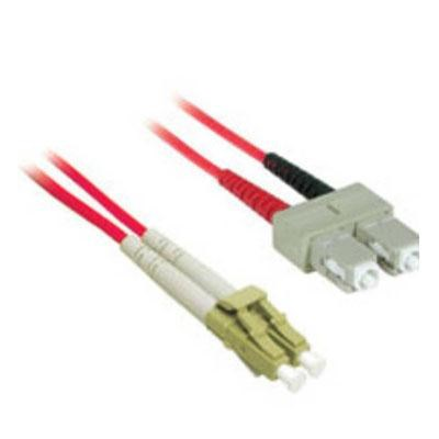 37237 LC/SC Duplex 62.5/125 Multimode Fiber Patch Cable (2 Meter, Red)