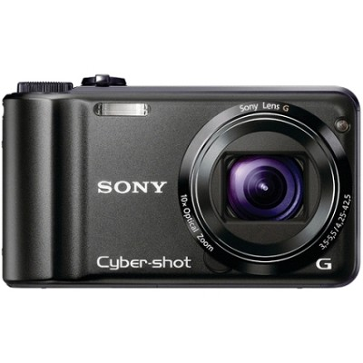 Cyber-shot DSC-H55 14.1 MP Digital Camera (Black) - OPEN BOX