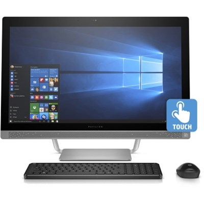 Pavilion 24-b230 Intel Core i5-7400T 1TB 23.8` All-in-One Desktop Computer