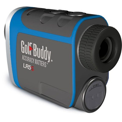 LR5S Golf Laser Rangefinder with Slope, Dark Gray/Blue