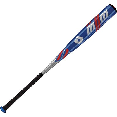 DeMarini 2013 M2M BBCOR Baseball Bat - Size 33`, 30 oz. - Blue/Silver