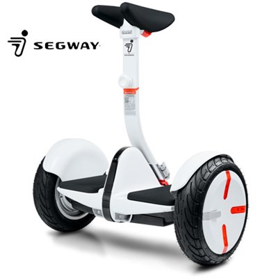 Segway miniPRO Smart Self Balancing Personal Transporter w/ Ninebot Technology (White)
