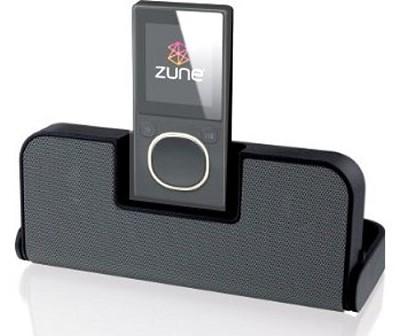 Zlive Portable Speaker for Zune (Black)