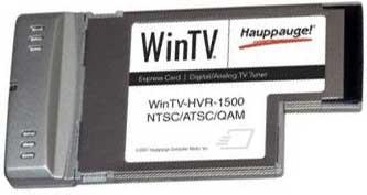 WinTV HVR-1500 Notebook Express Card HDTV Tuner/Video Recorder ( Model 1143 )