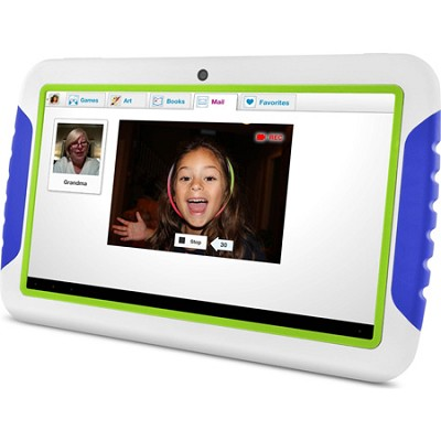 FunTab XL 9` Multi-Touch Screen Kid Safe Blue Tablet w/ Android 4.1, Jelly Bean