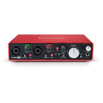 Scarlett 2i4 USB Audio Interface w/Pro Tools (2nd Generation) - OPEN BOX