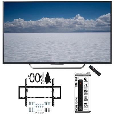 XBR-55X700D - 55` Class 4K Ultra HD TV with Tilt Wall Mount Bundle