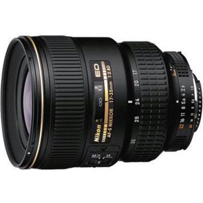 17-35mm F/2.8D ED-IF Zoom-Nikkor AF FX Full Frame Lens w/ 5-Year USA Warranty