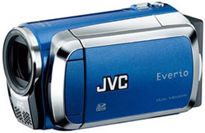 Everio GZ-MS120 Dual SD Card Camcorder - Blue
