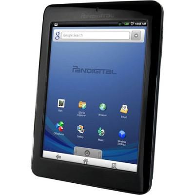Multimedia Novel 7` Android Multimedia eReader & Color Tablet - OPEN BOX
