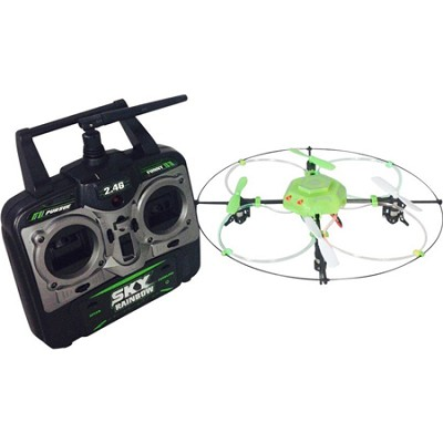 Sky Flyer NX Series Quadcoper with Fiber Optic Lights - ODY-1735NX