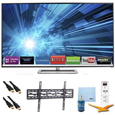 40` 120Hz Razor LED Smart 1080p HDTV Plus Tilt Mount & Hook-Up Bundle - M401I-A3