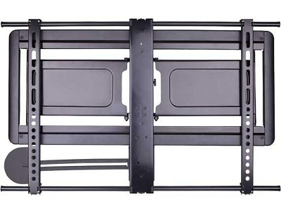 VLF410 Super Slim Full Motion Wall Mount for 37` - 84` TVs (sits 1.3` from wall)