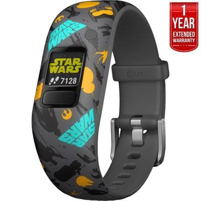 Vivofit jr. 2 Star Wars Resistance Activity Tracker + 1 Year Extended Warranty