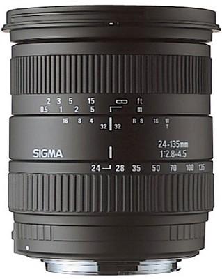 Wide Angle-Telephoto 24-135mm f/2.8-4.5 Aspherical IF AF Lens for Nikon