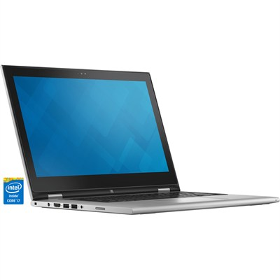 Inspiron 13 7000 13.3` Silver 2-in-1 Convertible Tablet PC - Intel Core i7-5500U