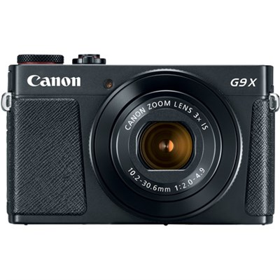 PowerShot G9 X Mark II 1` 20.1MP 4x Zoom Digital Camera, Wifi, Black