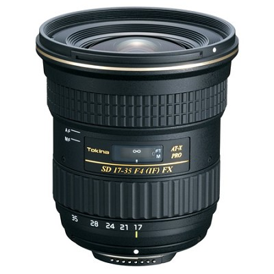 17-35mm f4 FX Lens for Canon Mount - OPEN BOX