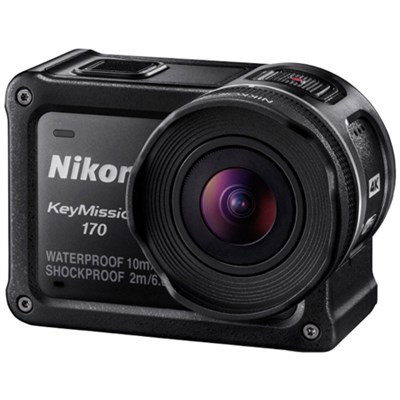KeyMission 170 4K Ultra HD Action Camera with Built-In Wi-Fi - Refurbished