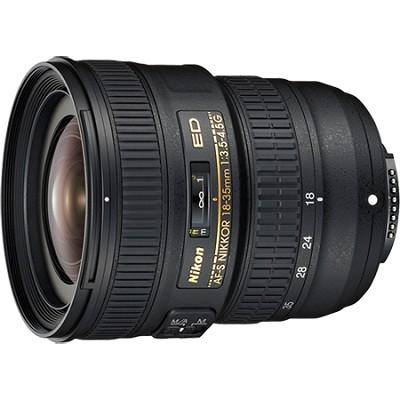 AF-S FX Full Frame NIKKOR 18-35mm f/3.5-4.5G ED Zoom Lens with Auto Focus