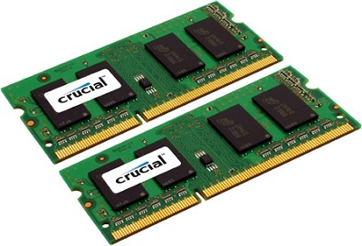 4GB SODIMM KIT, DDR3 PC3 8500, Newest MacBook Pro 2.8 MHz