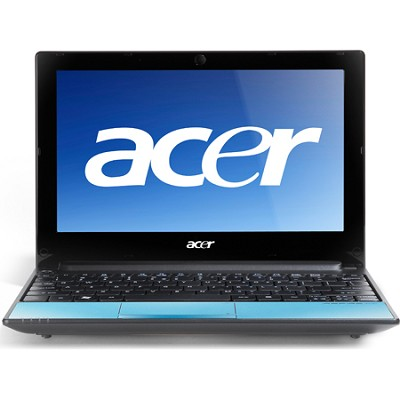 Aspire One 10.1` AOD255 Netbook Computer - Aquamarine (1203)