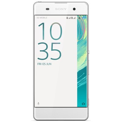 Xperia XA 16GB 5-inch Smartphone, Unlocked - White - OPEN BOX