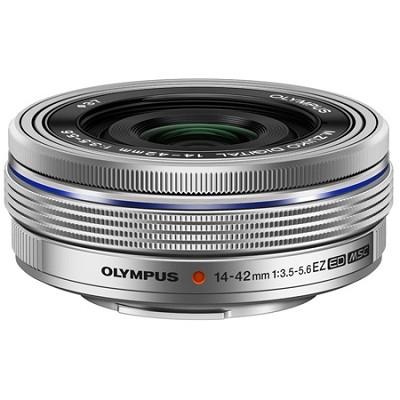 M. Zuiko 14-42mm f3.5-5.6 EZ Lens - Silver