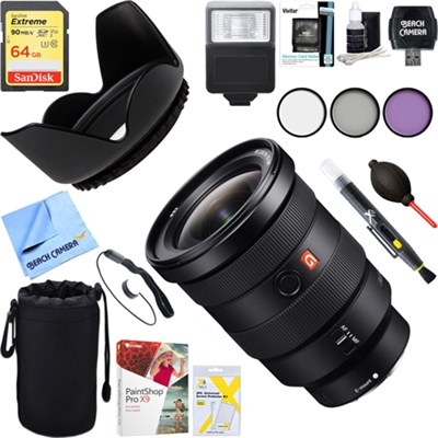 FE 16-35mm F2.8 GM Wide-angle Zoom Lens + 64GB Ultimate Kit