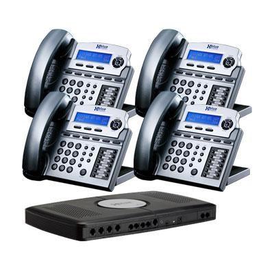 X16 6 Line Phone Sys 4pk Titan