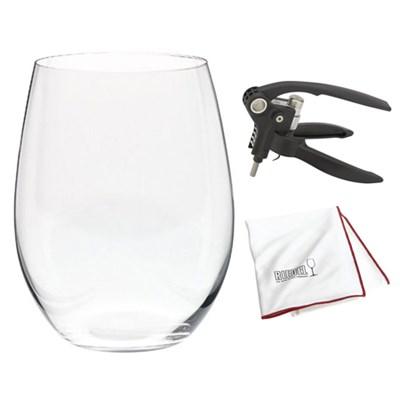 O' Cabernet Glasses Set of 6 w/ 2 Bonus Glasses 5414/80 w/ Corkscrew Kit