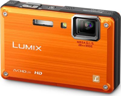 DMC-TS1D LUMIX 12.1 Megapixel TOUGH Digital Camera (Orange) Refurbished