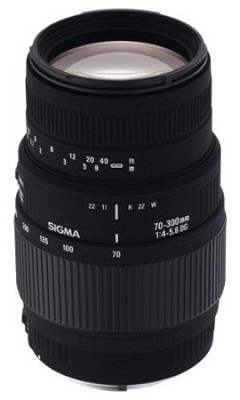 70-300mm f/4-5.6 SLD DG Macro Lens with built in motor for Nikon Digital SLRs