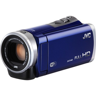 GZ-EX310AUS - HD Everio Camcorder 40x Zoom f1.8 (Blue)
