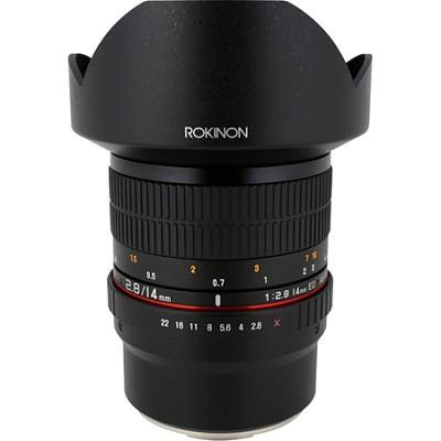 FE14M-FX 14mm f/2.8 IF ED MC Aspherical Super Wide Angle Lens for Fuji X