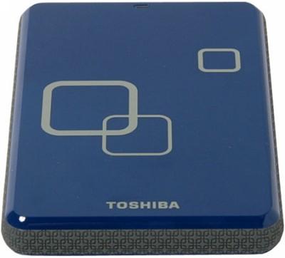 DS TS Canvio HD 640GB USB 2.0 Portable External Hard Drive - Liquid Blue