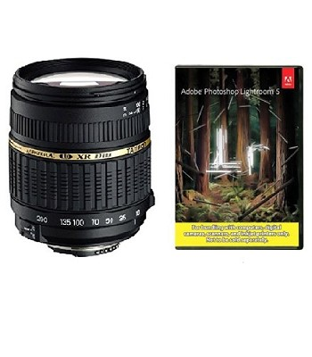 18-200mm F/3.5-6.3 AF DI-II LD Lens f/ Nikon w/ Built-in motor, With Lightroom 5