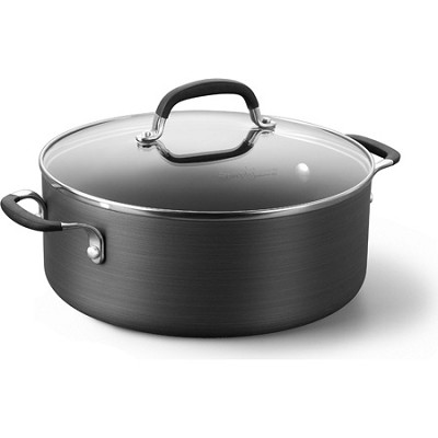 5-qt. Simply Hard-Anodized Nonstick Chili Pot with Cover - SA8785HP