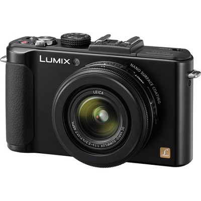 LUMIX DMC-LX7 10.1 MP 3.8X Advanced Zoom Black Digital Camera