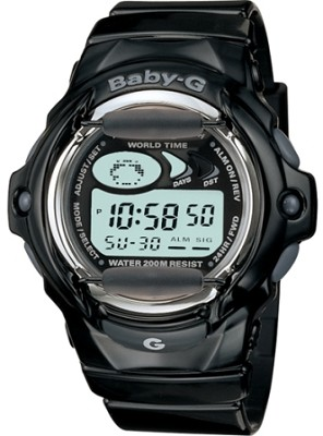 BG169A-1A - Baby-G Black Shock Resistant Sport Watch