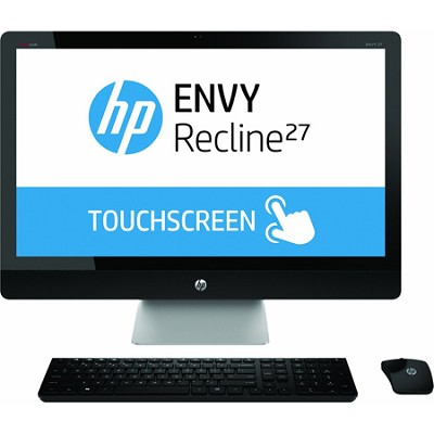 ENVY Recline TouchSmart 27` 27-k119 All-In-One PC Intel i7-4765T - Refurbished