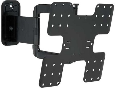 Super Slim Full Motion Wall Mount For 26` - 47` TVs Extends 22` - VMF322