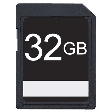 32GB SDHC Class 10 High Speed Memory Card