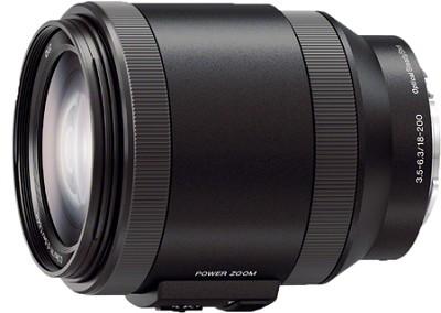 Alpha E-mount Power Zoom 18-200mm F3.5-6.3 OSS
